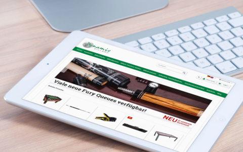www.dynamic-billard.de, Billardshop, Kirkel-Limbach bei Neunkirchen, Shopware-Onlineshop