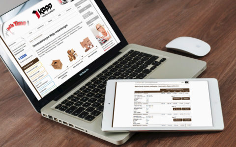 www.kopp-verpackungen.de, Verpackungen und Logistik, Höheischeiler bei Pirmasens, OsCommerce-Onlineshop